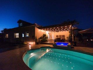 Fun Family Home!  *Private pool, Walk to the Beach *