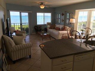 Ocean Views All Rooms !  Top Floor !  Largest - End Unit, Quiet !!