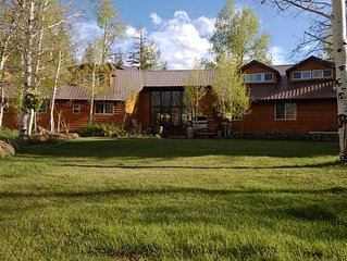 Alpine Forest Lodge Lodge / Great for Reunions, Family Retreats,  Room fr Tents