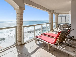 Marvelous Gulf Front Views, Heated Pools, Spa, Grill