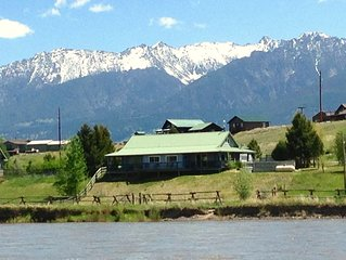 Riverfront Property on Yellowstone River! Yellowstone Open! Competitive Rates!