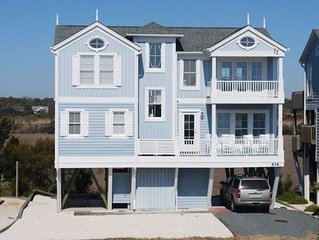 Beach House on Holden Beach, Ocean/Marsh Views, Beach Access