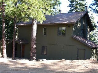 INSIDE YOSEMITE! 18 minutes to Yosemite Valley. Spacious home with king beds.