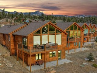 NEW LISTING with incredible views, close to town & RMNP; new hot tub, AC, & more