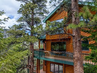 Next to Rocky Mountain National Park. Luxury Vacation Rental. Views & River!