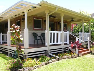 Quaint Cottage (TVNC#5100) in Heart of Hanalei, beach easy walk, $325/ni, 2 peop