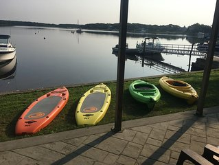 Ready for Fall! Personal Beach & Dock! Boater & Kayakers dream!! Don't miss out!