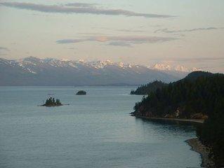 Deep Bay~ Flathead Lake Timber Frame House