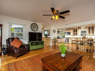 Solana Beach Oasis 3BD/2BA (Steps 2 Both Beaches) Winter rates now/ & monthly