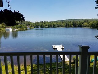 Beautiful Waterfront House Rental- Right on Lake Garfield
