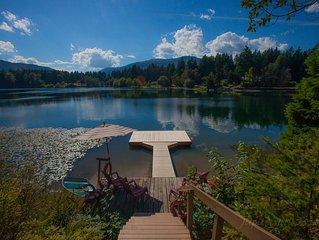 Beautiful Lakefront Home on Fuller Lake in Chemainus, British Columbia