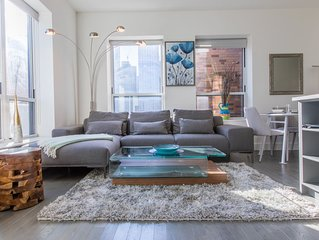 Luxury New 2bedroom 2bathroom Near TimesSquare and central park