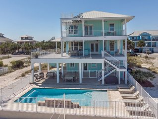 Luxurious Gulf House with BOTH Beach & Bay access. Private Beach & Private Pool