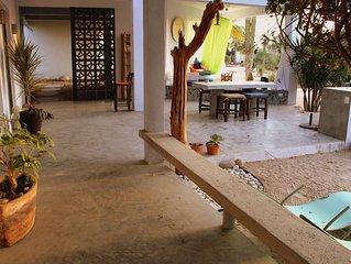 Casa El Patio ...chill-out in a cozy patio near the ocean!