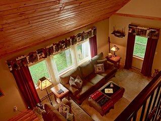 Cervo Lodge-Spacious Village home-Fireplaces-Pet Friendly-Hot Tub-Fire Pit