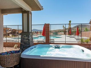 Fantastic New 7 bdrm resort townhome Near Zion National Park w/ Private hot tub!