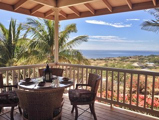 Tropical living - Huge sunset ocean views minutes from the ocean