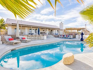 Experience Magical Joshua Tree In A Secluded Retreat w/ Pool, HotTub & Game Room