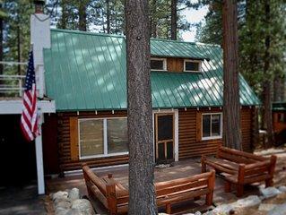 Charming Log Cabin | HOT TUB | Sauna | Pet Friendly | Walk to Beach - VideoTour