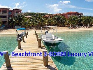 *NEW* $1.5 Million+ Beachfront Villa - infinity pool, views!!! & luxury service