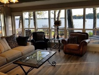 Stunning 4 BR 3 BA Gem on Deer Island with over 200 foot of waterfront
