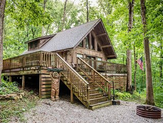 Red Hickory — A secluded and romantic retreat in the woods.