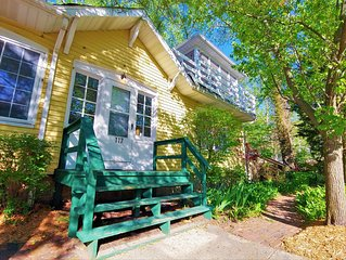 Just Steps to the Beach! Lake Michigan Views, Sleeps 18+