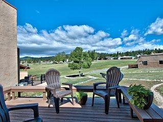 18th Green Golf Course Condo with Spectacular Sierra Blanca Views
