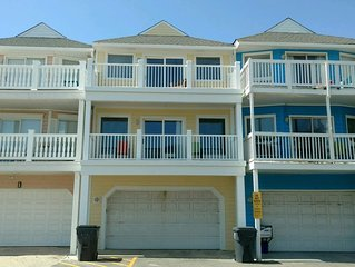Newly Renovated Beautiful Ocean View Townhome With Private 2 Car Garage