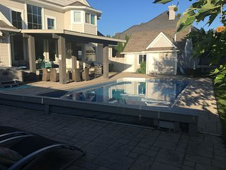 Sleeps 12+, POOL, Hot tub, Trampoline, 5 Bedroom
