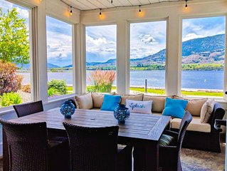 Rare Beachfront at Osoyoos Cottages, 4 kayaks incl