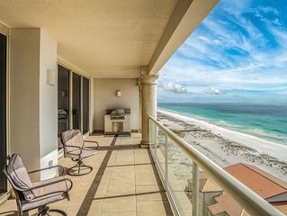 Spectacular Views of the Gulf of Mexico, Right on the Beach
