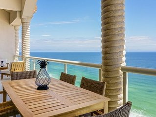Penthouse w/Unobstructed Gulf of Mexico Views, In/Outdoor Pools, Beach Chairs!