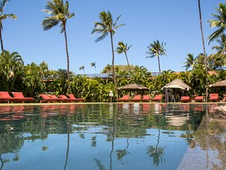 Summer specials 139! Aina Nalu saltwater pool, heart of Old Lahania West Maui