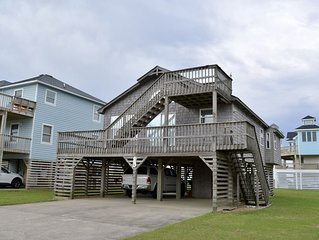 Just steps to the beach, conveniently  located in the heart of Nags Head