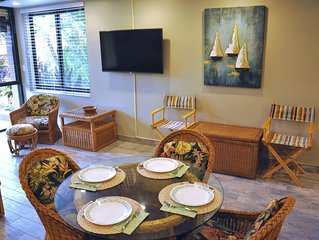 Kamaole Sands 3 Bdrm Ground Floor End Unit Nestled in the Lush Inner Gardens