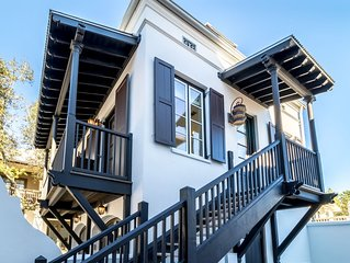 ROSEMARY BEACH - South of 30A - Abaco on the Green Carriage House
