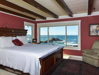 6-Bedroom Oceanfront Masterpiece in Pacific Grove, CA. From $1200 for 8 guests