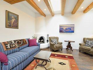 2 bedroom, 2 bathroom Townhome - Center of Historic Santa Fe, Car Unnecessary