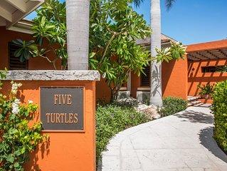 Five Turtle Villa- an Amazing Beach Front Villa