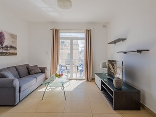 SAINT JULIAN'S 2 BEDROOM FLAT WITH BALCONIES BY SPINOLA BAY