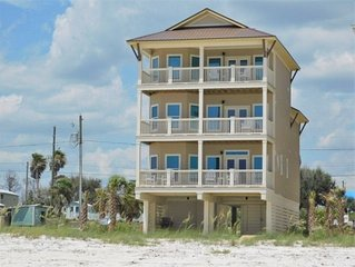 Luxury 5BR Beachfront Private Home w/ Elevator, New POOL in 2020