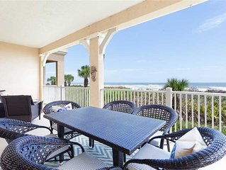 725 Cinnamon Beach, 3 Bedrooms, Ocean Front, Pool Access, WiFi Sleeps 8