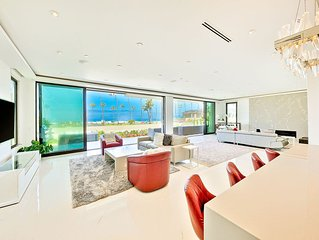 Lux * the Shores: Contemporary Villa with Jacuzzi, A/C and amazing ocean views