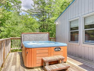 Charming & rural dog-friendly house w/private hot tub & fire pit!