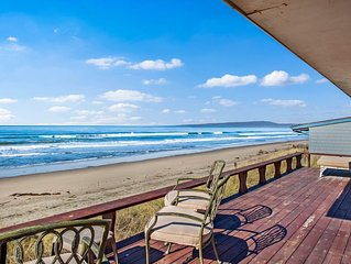Waterfront home w/ shared tennis - steps away from the beach
