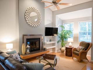 Bike to Holland State Park from this contemporary cottage - Sleeps 9