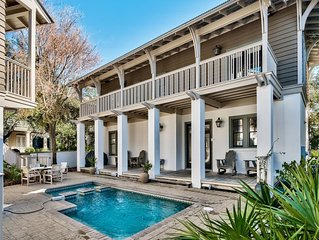 Grand Terre: Spectacular 5BR Home! South of 30A w/ Private Pool! Pet Friendly!