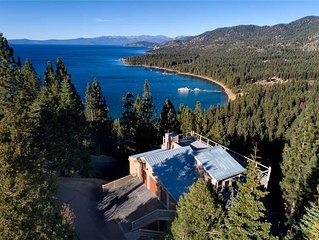 Handsome Home with Roof Top Deck Looking Over Lake Tahoe (ZH02)