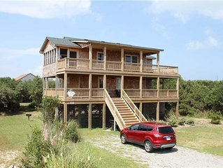Oceanside in Buxton w/Screened porch, PetFriendly